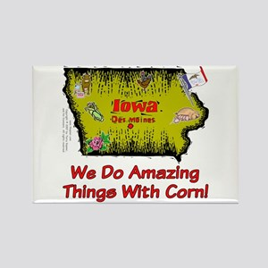 IA-Corn! Rectangle Magnet