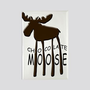 Chocolate Moose Rectangle Magnet