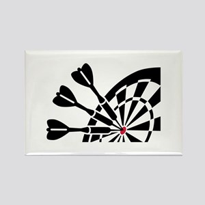 Darts dartboard Rectangle Magnet