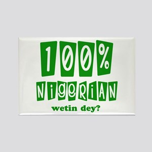 100% Nigerian Rectangle Magnet