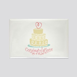 Congratulations Cake Magnets