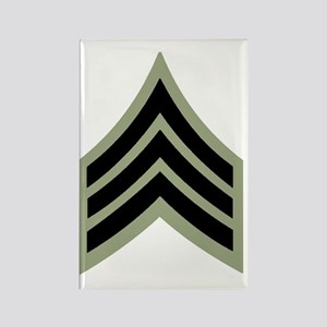 Army-SGT-Vietnam-Four-Inches Rectangle Magnet