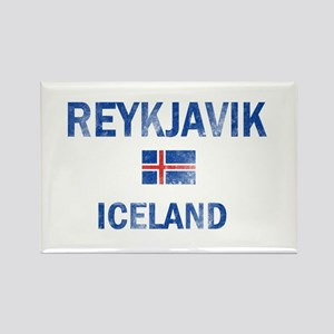 Reykjavik Iceland Designs Rectangle Magnet