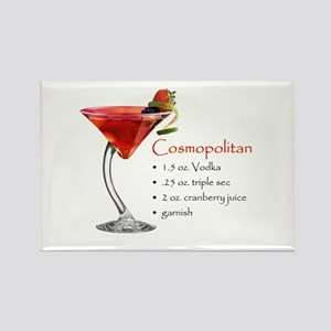 Cosmopolitan Rectangle Magnet