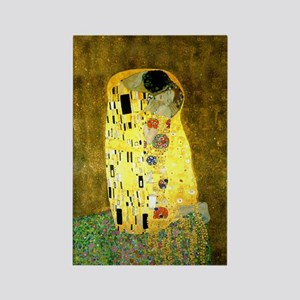 The Kiss Gustav Klimt Rectangle Magnet