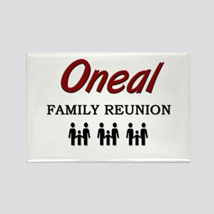 Oneal Family Reunion Rectangle Magnet