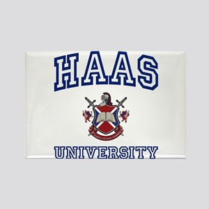 HAAS University Rectangle Magnet