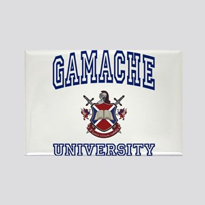 GAMACHE University Rectangle Magnet