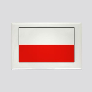 Polish Flag Rectangle Magnet