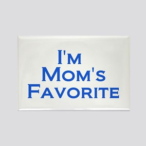 Mom's Favorite Rectangle Magnet