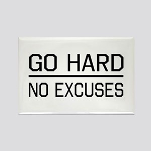 Go hard, no excuses Magnets