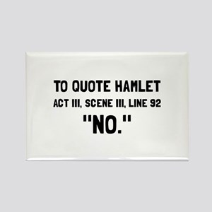 Funny Shakespeare Quotes Magnets Cafepress