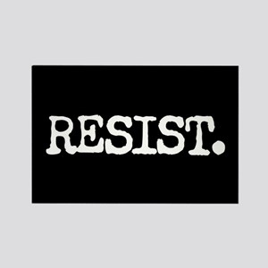 RESIST. Rectangle Magnet
