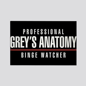 Professional Grey's Anatomy Binge Rectangle Magnet