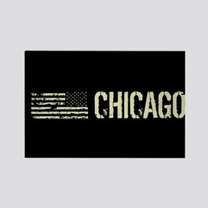 Black Flag: Chicago Rectangle Magnet