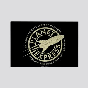Planet Express Logo Rectangle Magnet