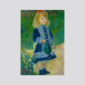 A Girl with a Watering Can by Renoir Magnets