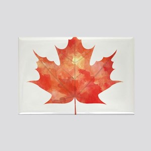 Maple Leaf Art Magnets