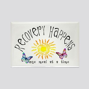 Recovery Happens Rectangle Magnet