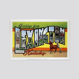 Lexington Kentucky Greetings Rectangle Magnet