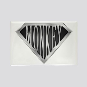 SuperMonkey(metal) Rectangle Magnet