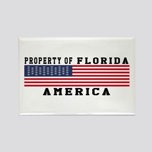 Property of Florida Rectangle Magnet