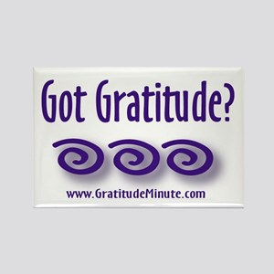 Got Gratitude Rectangle Magnet
