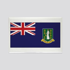 BVI Flag Rectangle Magnet