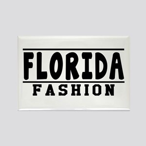 Florida Fashion Designs Rectangle Magnet