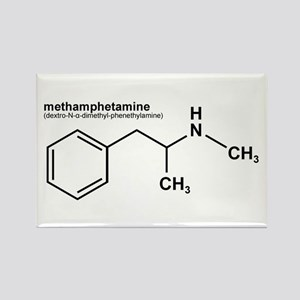 Methamphetamine Rectangle Magnet