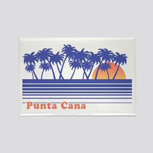 Punta Cana Rectangle Magnet