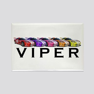 Dodge Viper Rectangle Magnet