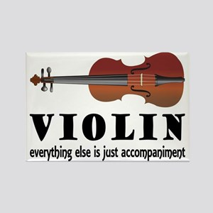 Violin Humor Music Rectangle Magnet