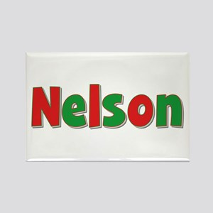 Nelson Christmas Rectangle Magnet