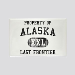 Alaska Rectangle Magnet