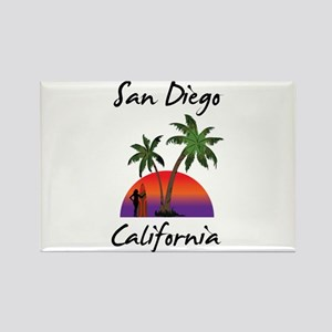 San Diego California Magnets