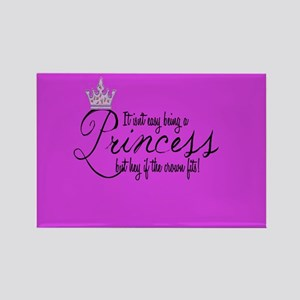 Princess Throw Blanket Magnets