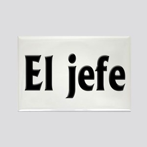 El jefe (The Boss) Rectangle Magnet