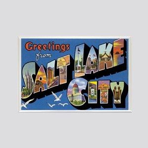 Salt Lake City Utah UT Rectangle Magnet