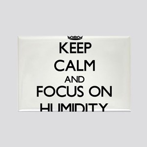 Keep Calm and focus on Humidity Magnets