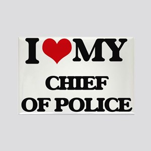 I love my Chief Of Police Magnets