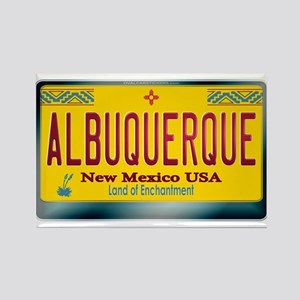 """ALBUQUERQUE"" New Mexico License Plate Rectangle M"