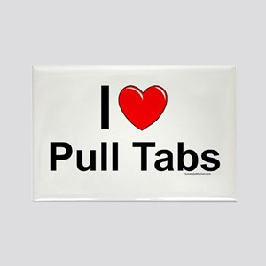 Pull Tabs Rectangle Magnet