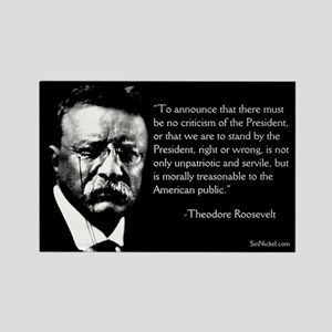 Teddy Roosevelt On Dissent Magnet