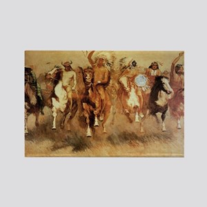 Best Seller Wild West Rectangle Magnet