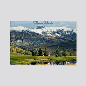 Beautiful Telluride, Colorado Rectangle Magnet
