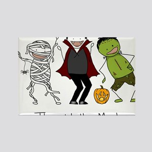 Monster Mash - Halloween Rectangle Magnet