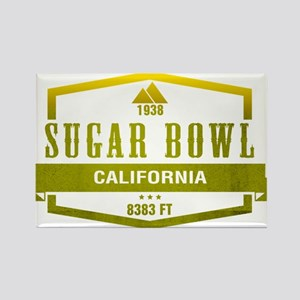 Sugar Bowl Ski Resort California Magnets