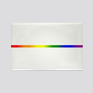 PRIDE STRIPE Rectangle Magnet