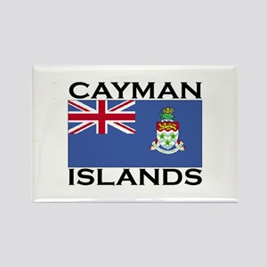 Cayman Islands Flag Rectangle Magnet